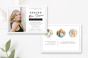 Photographer Mini Session Template