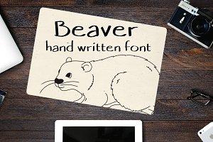 Beaver - Font No.14