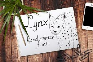 Lynx - Font No.15