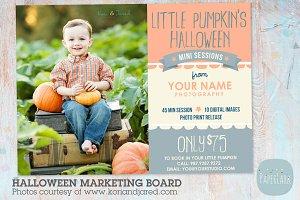 ID001 Halloween Marketing Board