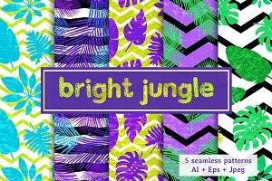 Bright jungle