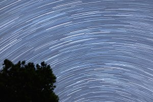Star Trails - Night Sky