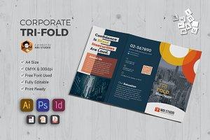 Modern Tri-Fold  Brochures