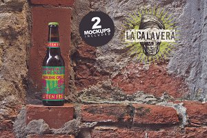 Venetian Wall Duo | Beer Mockups