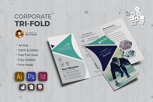Stylish Tri-Fold Brochures