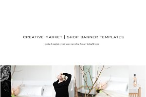 Lightroom | Shop Banner Template