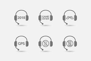 Headset Technology Set 06