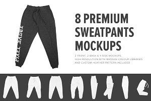 8 Premium Sweatpants Mockups