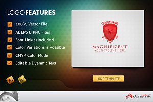 Magnificent - Logo Template