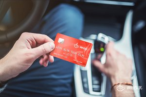 """Smart Club Card Mockup """"A"""""""