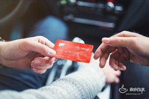 """Smart Club Card Mockup """"B"""""""
