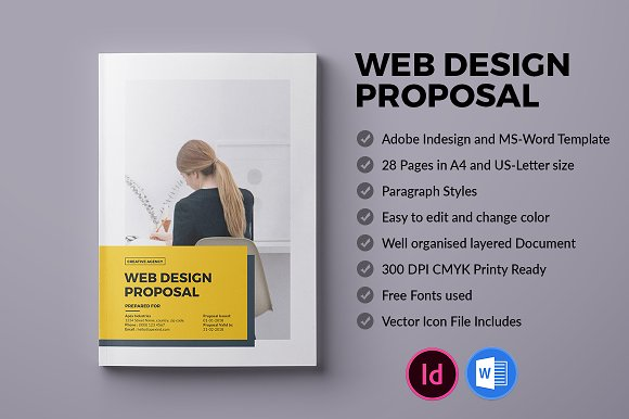30 Free Proposal Templates In Adobe Indesign Indd Idml
