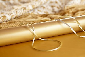Christmas Wrapping Paper & Ribbon