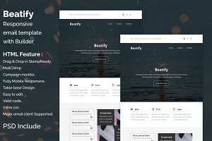 Beatify - Responsive email template