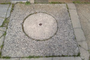 drain manhole detail