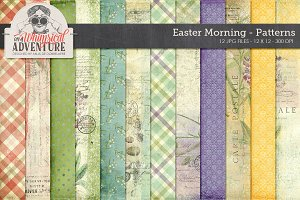 Patterned Papers - Easter Morning