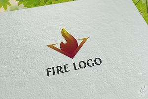 Fire - Logo Template