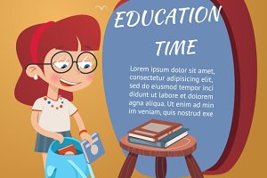 Beautiful Education Poster