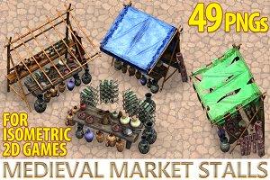 Medieval Market Stalls
