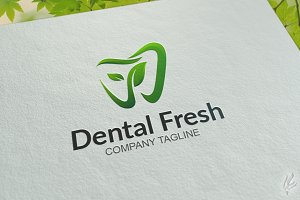 Dental Fresh - Logo Template