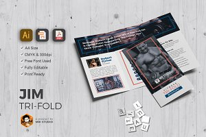 Corporate GYM Tri-Fold