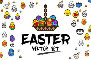 Easter Vector set