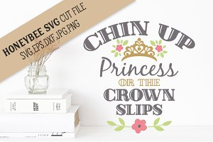 Chin Up Princess cut file