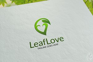 Leaf Love - Logo Template