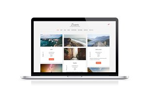 SuevaFree, free WordPress blog theme
