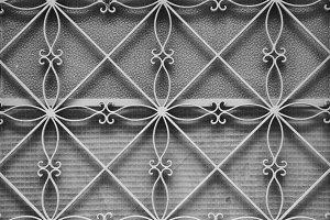 Door Floral Pattern