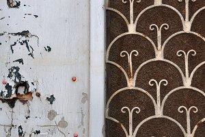Door Rusty Pattern