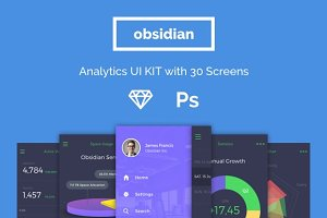 Analytics App UI Kit