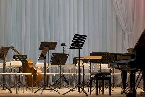 Scene symphony orchestra