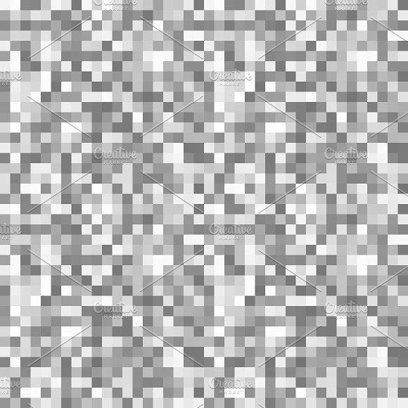 Grayscale Pixels Noise Mosaic