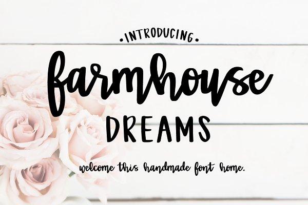 Farmhouse Dreams Script