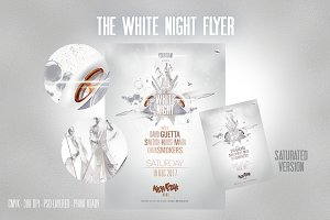 The WHITE NIGHT flyer