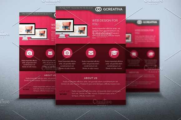 Flyer Web Design