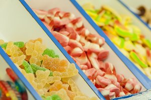 assortment of candies