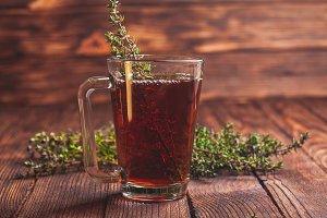 The thyme tea