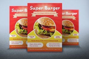 Flyer Super Burger