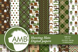 Movember digital papers AMB-1877