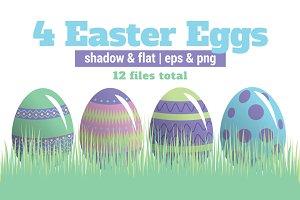 4 Easter Eggs