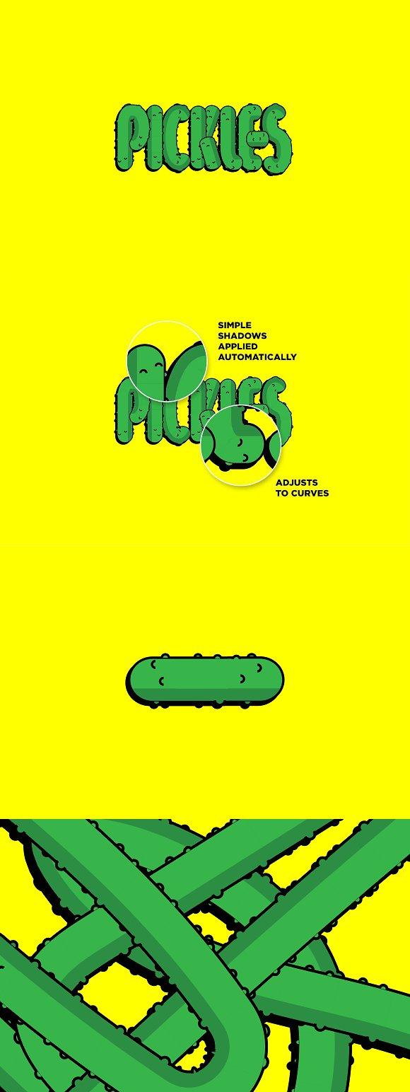 Pickle Brush