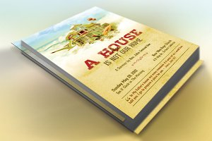 Our Home Church Flyer Template