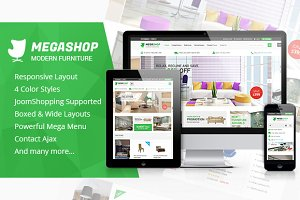 SJ MegaShop - Multipurpose template