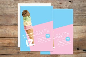 Ice Cream Invitation