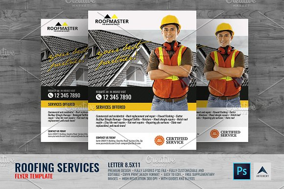 Roofing Service Flyer