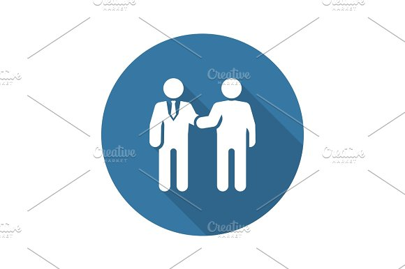 Handshake Icon. Business Concept.