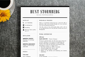 Resume Template | Hunt