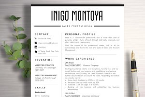 Resume Template | Inigo